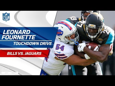 Video: Leonard Fournette Leads Jags on TD Drive to Take the Lead! | Bills vs. Jaguars | NFL Wild Card HLs