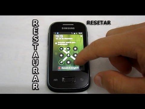 Dica - Como Tirar o Padrão de Desbloqueio no Galaxy Y, Pocket, Ace (Resetar - Formatar)