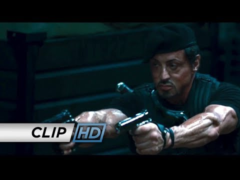 The Expendables (Clip 'Boat Gunfight')