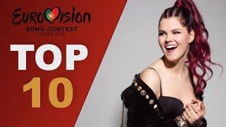 Video Top 10 Vocalists   Eurovision 2018 MP3, 3GP, MP4, WEBM, AVI, FLV Juni 2018