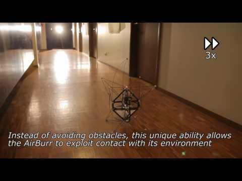 mit Robot Electronics Autonomy - The AirBurr is an autonomous flying robot specifically designed for missions in difficult, confined environments with minimal sensing. Inspired by the simple...