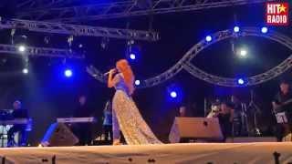Reportage du festival des plages avec Dounia Batma à Mdiq avec Maroc Telecom et HIT RADIO