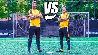 SERGIO RAMOS VS DELANTERO09 - Retos de Fútbol