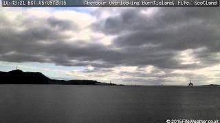 5 September 2015 - Aberdour WeatherCam Timelapse