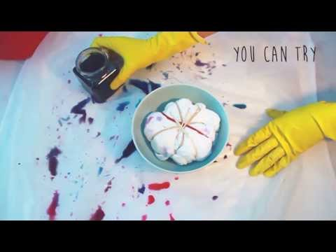 how to tie dye a white t shirt