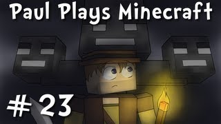 "Paul Plays Minecraft - E23 ""Skeleton Dungeon Trap"" (Solo Survival Adventure)"