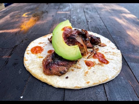 Taco from Ugly Delicious - Taco Arabes fr Scratch FOOD BUSKER | John Quilter