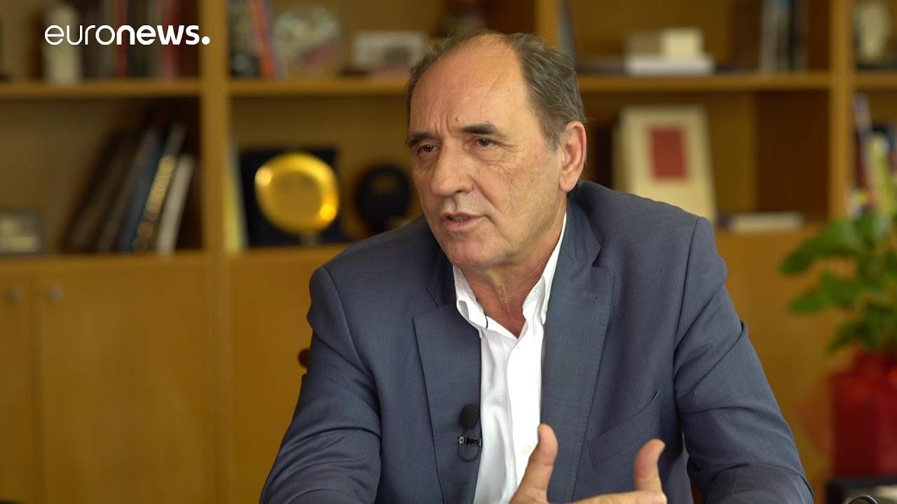 Ο Υπ.Ενέργειας Γιώργος Σταθάκης στο euronews