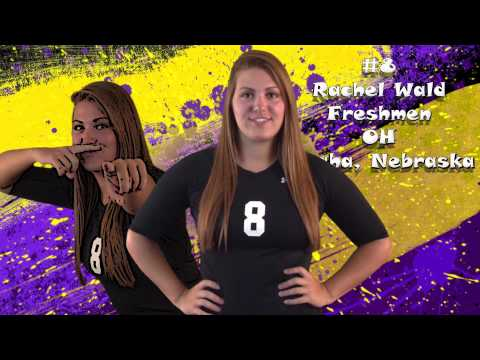 2014 Bellevue University Volleyball Roster Introductions