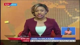 KTN  Leo: Wazee Wa Kuria Kumuunga Mkono Raila  Alipozuru Eneo Hilo, 25 Octoba 2016
