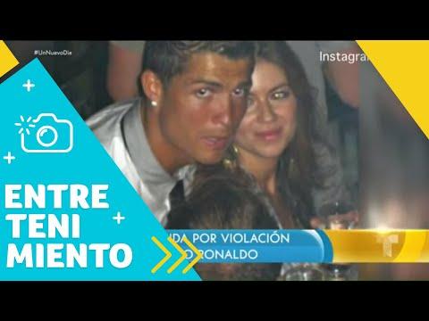 Retiraron la demanda por violación contra futbolista Cristiano Ronaldo (VIDEO)