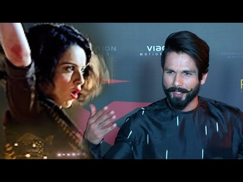 Shahid Kapoor Has No Issues with Kangana Ranaut |