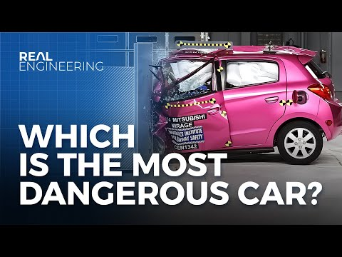 Which is The Most Dangerous Car? Problems with NHTSA ratings