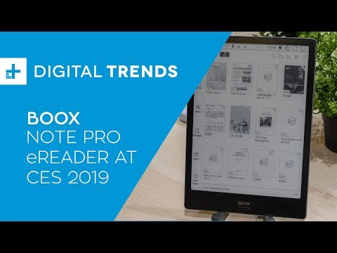 Boox Note Pro eReader - Hands On at CES 2019