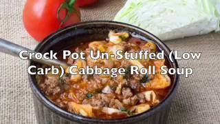 The BEST Comfort Soup of all time! Made low in carbs subbing the rice for riced cauliflower and no one will know! It's gluten free, low carb, grain free and ...