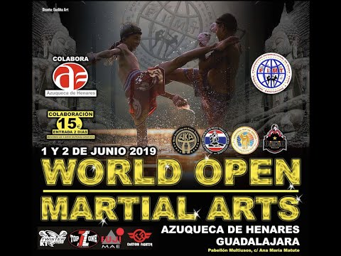 Trailer World Open Amateur 2019, Spain, muay thai, kickboxing, K1