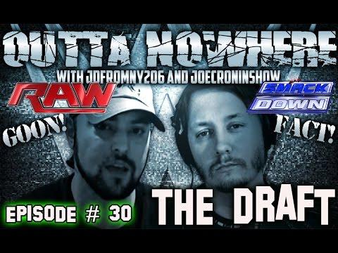 OUTTA NOWHERE !!  RAW vs SMACKDOWN Mock Draft 2016 Episode #30