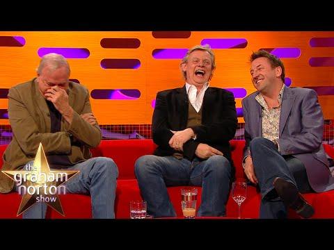 Lee Mack's Joke Leaves John Cleese In Near Tears | The Graham Norton Show