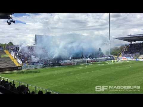 Video: Halbzeitshow 1. FC Magdeburg gegen VfR Aalen 13.05.2017 (HD Apr 2017)