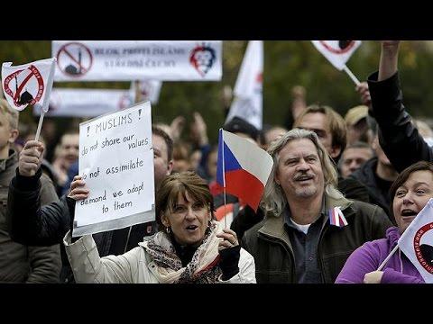 Τσεχία: Ξενοφοβικές διαδηλώσεις με τη «σφραγίδα» του PEGIDA