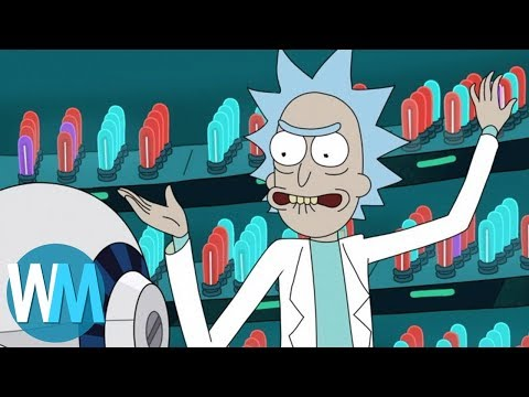 Top 10 Times Rick Crossed the Line on Rick and Morty (видео)