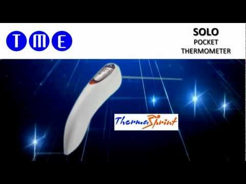SOLO Digital Handheld Thermometer with Foldout Needle Probe