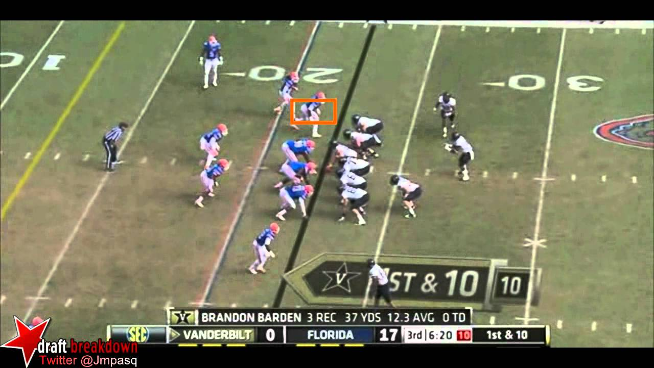 Ronald Powell vs Vanderbilt (2011)