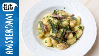 Gnocchi with ANCHOVIES   Bart van Olphen by Bart's Fish Tales