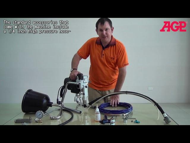AGP EC021 Electric Piston Pump Airless Sprayer – Introduction