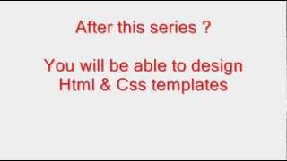 Html And Css In Hindi / Urdu  Tutorial - 1 -  Introduction To  Tutorials Series