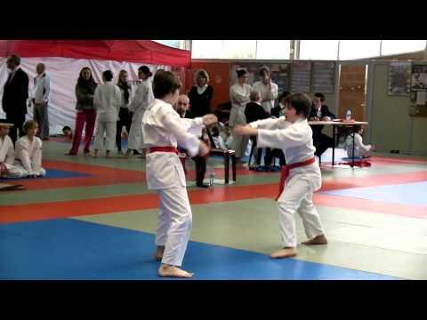 Taijutsu Kata Shodan et Nidan en équipe   ( premier et deuxieme Kata )