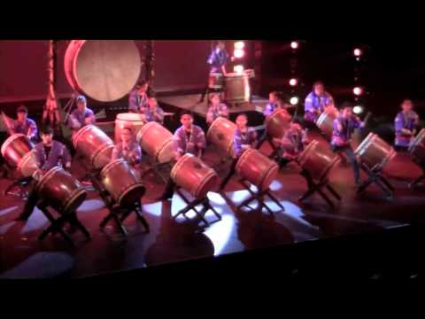zenshin - Composed by Christopher Hisamoto (2004) Performed by Zenshin Daiko June 11, 2011 at the Maui Arts and Cultural Center's Castle Theater. Zenshin Daiko's 12th ...