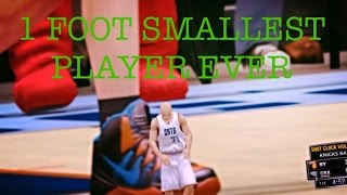 NBA 2K - 1 Foot Player | Smallest Player Ever