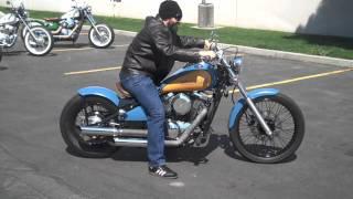 10. Kawasaki Vulcan 800 Bobber Ride HD