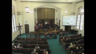 Sunday Worship Service: March 26th, 2017