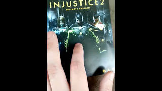 Want to see what you get in the ultimate edition steelbook of injustice 2? Then you are in the right place, watch as I stumble...