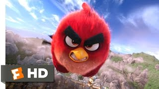 Angry Birds - Red Flies Scene (8/10) | Movieclips