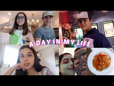 A DAY IN MY LIFE VLOG | Cooking with my Boyfriend, Opening Up, Life Update!