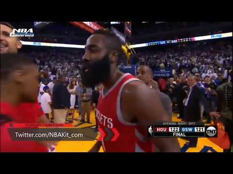 HOUSTON ROCKETS VS GOLDEN STATE WARRIORS Full Highlights 2017-2018 Season