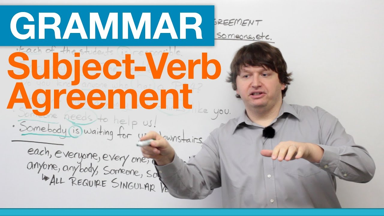 English Grammar Subject Verb Agreement With EACH EVERY