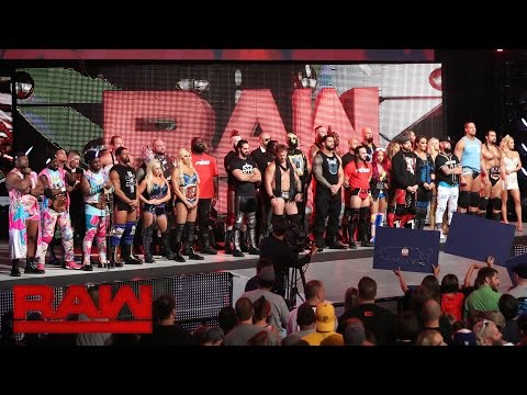 Stephanie McMahon and Mick Foley announce the WWE Universal Championship: Raw, July 25, 2016