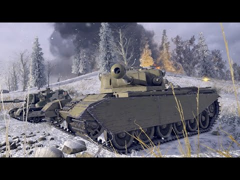 World of Tanks: Flashpoint Berlin Trailer in 4K
