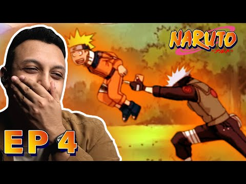 Naruto Episode 4 REACTION (1000 Years of Death Kanchou) Pass or Fail: Survival Test