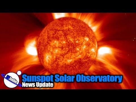 Sunspot Solar Observatory: News Update_Sun videos