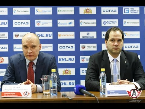 "Пресс-конференция - ""Автомобилист"" 3:2 ""Торпедо"" (1.10.15)"