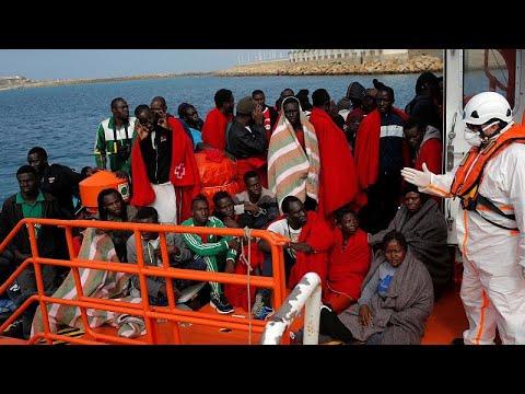 Δεκάδες διασώσεις μεταναστών από την ισπανική ακτοφυλακή …
