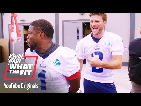 Bonus Scenes: LA Rams Push Kevin to the Limit | Kevin Hart: What The Fit | Laugh Out Loud Network