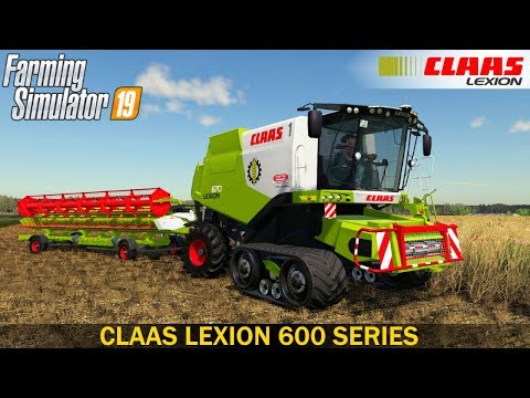 Claas Lexion 600 Series v1.0.0.0