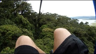 One of the biggest highlights in the trip, zip lining was an amazing adventure. Join Kade Dworkin as he does all 8 lines on Arenal including one that was over a ...