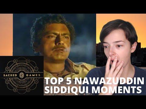Top 5 Nawazuddin Siddiqui Moments | Sacred Games | REACTION!